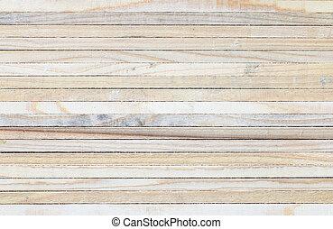 holz, pattern., planke