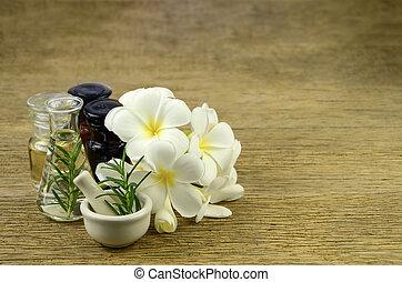 homöopathie, oel, rosmarin, remedy., wesentlich