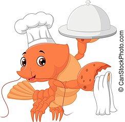 homard, dessin animé