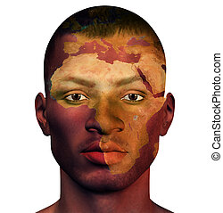 hombre africano