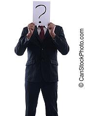 hombre, anónimo, empresa / negocio