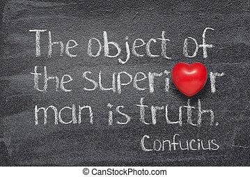 hombre, confucius, superior