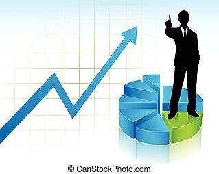 hombre de negocios, actuación, el suyo, finger..., numere uno