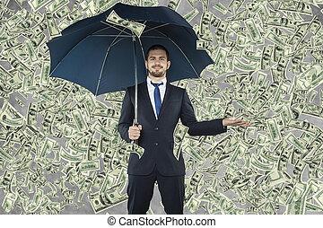 hombre de negocios, billonario