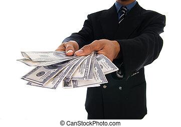 hombre del dinero