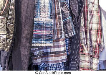 hombres, camisas