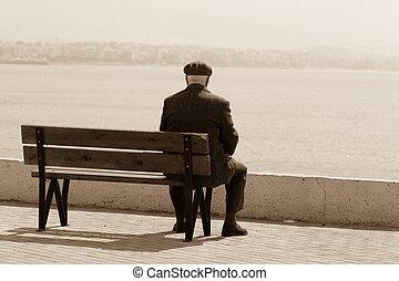 hombres, declinante, años