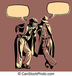 hombres, discusión
