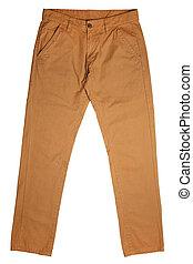 hombres, pantalones