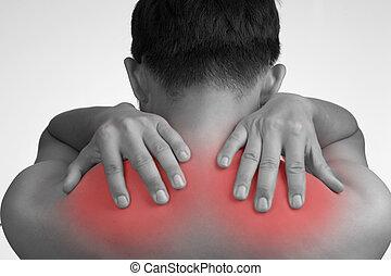 hombro, dolor