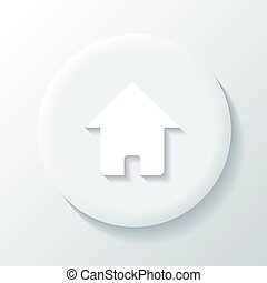 Home 3D Paper Icon