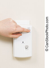 Home Alarm Detector for Carbon Monoxide Gas