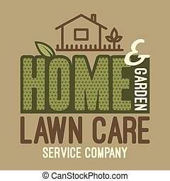 Home and garden lawn care t-shirt - Home and garden lawn...
