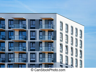 Home and house apartment residential building complex real estate