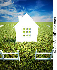 Home and property ownership concept