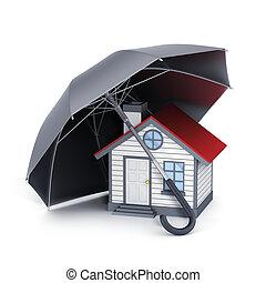 Home and umbrella