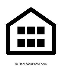 Home App Button Web Icon - msidiqf