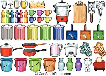 Home appliances - Different kind of home appliances