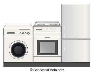 home appliances symbol for store