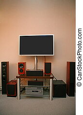 home audio-video system