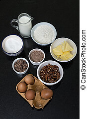 Home baking ingredients