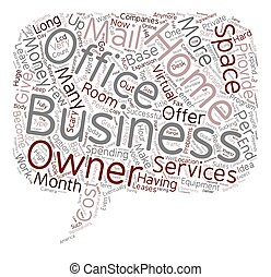 Home Base Business text background wordcloud concept