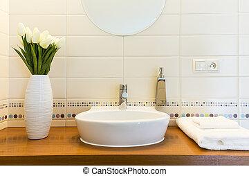 Home bathroom like spa