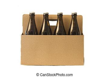 Home Brew beer bottles