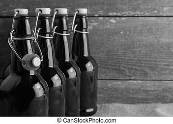 home brew easy cap beer bottles