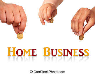 Home business concept.