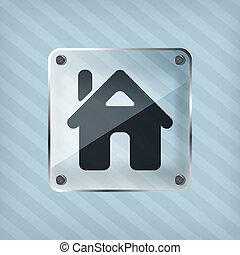 home button icon