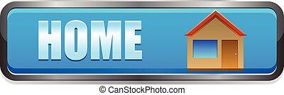 Home button vector icon