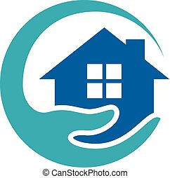 Home Care Logo Icon Design