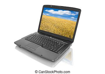 home computer - laptop