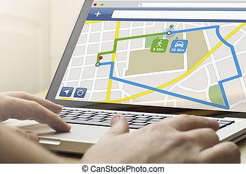 home computing navigation app