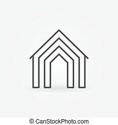 Home concept icon