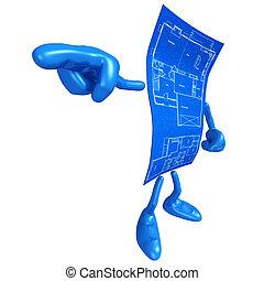 Home Construction Blueprint - A Concept And Presentation...