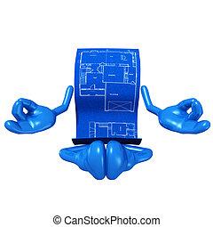 Home Construction Blueprint Zen