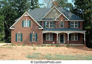 Home Construction - Photographed homw construction in...