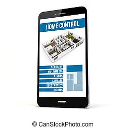 home control phone