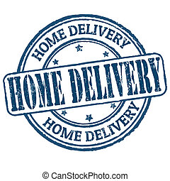 Home delivery stamp