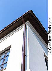 Home downspout