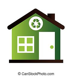 home ecology green icon