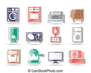 Home electronics and equipment icon