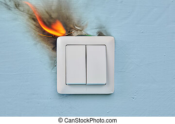 Home fire was caused by faulty electrical wiring.