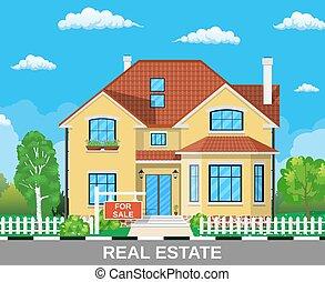 Real Estate concept,