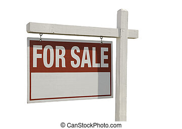 Home For Sale Real Estate Sign