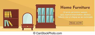 Home furniture horizontal banner