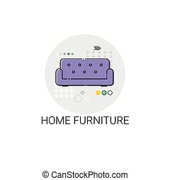 Home Furniture Interior Household Icon
