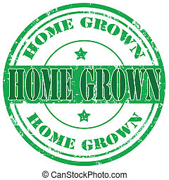 Home Grown-stamp